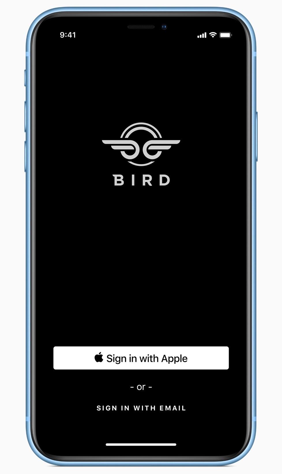 Apple ios 13 sign in screen iphone xs 06032019