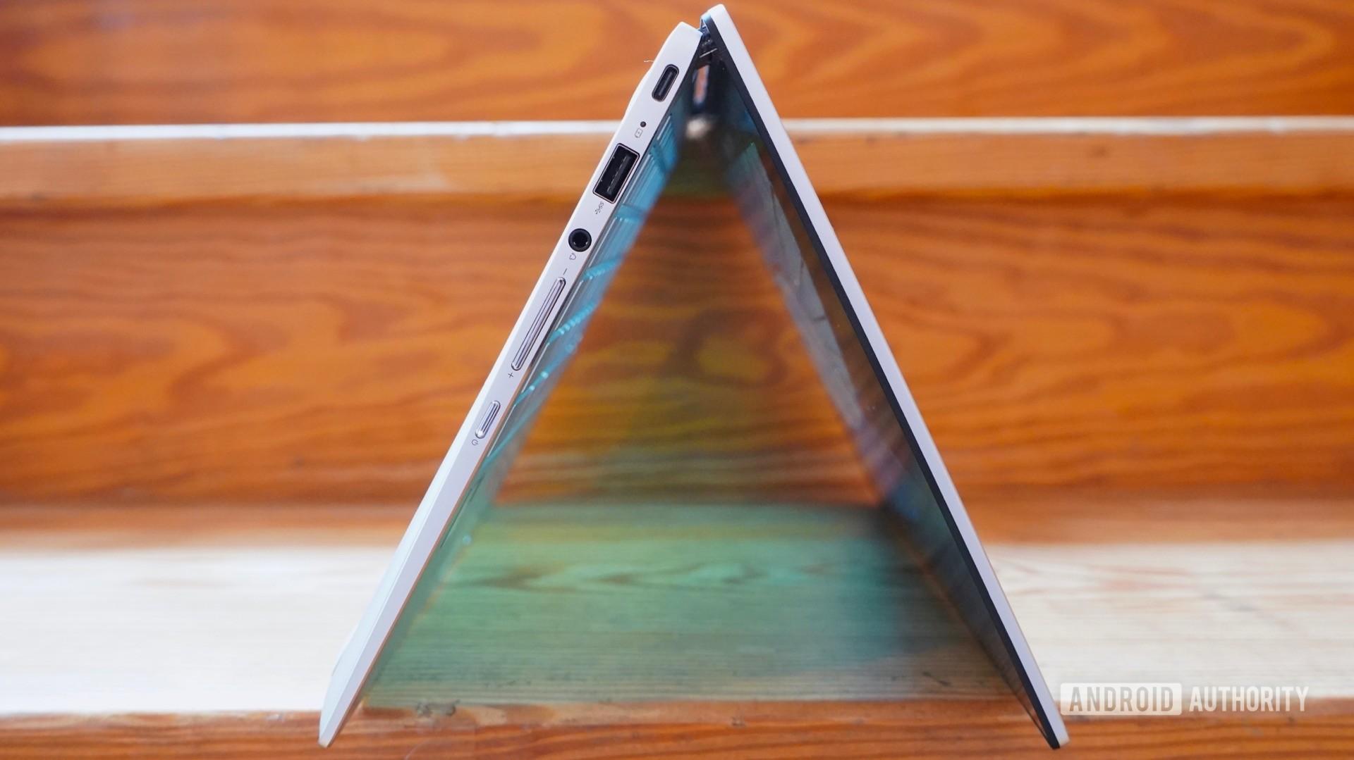 Asus Chromebook Flip C434 tent style