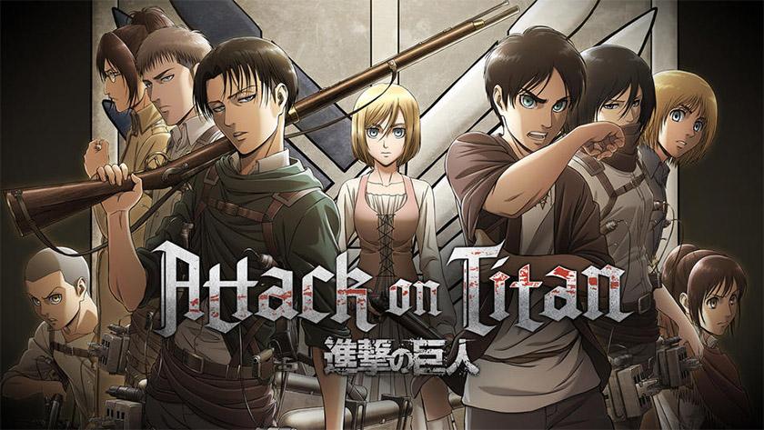 Attack on Titan - best anime on hulu