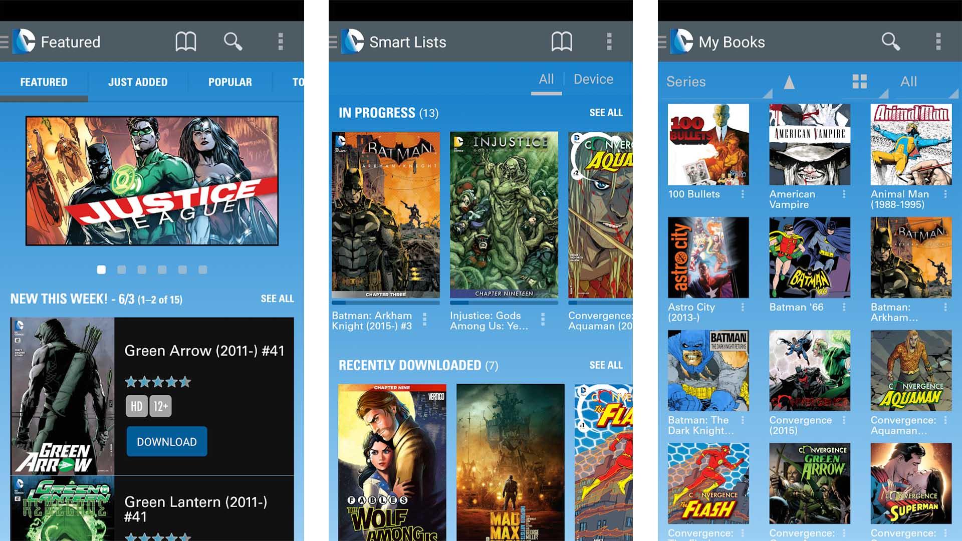 DC Comics screenshot 2020