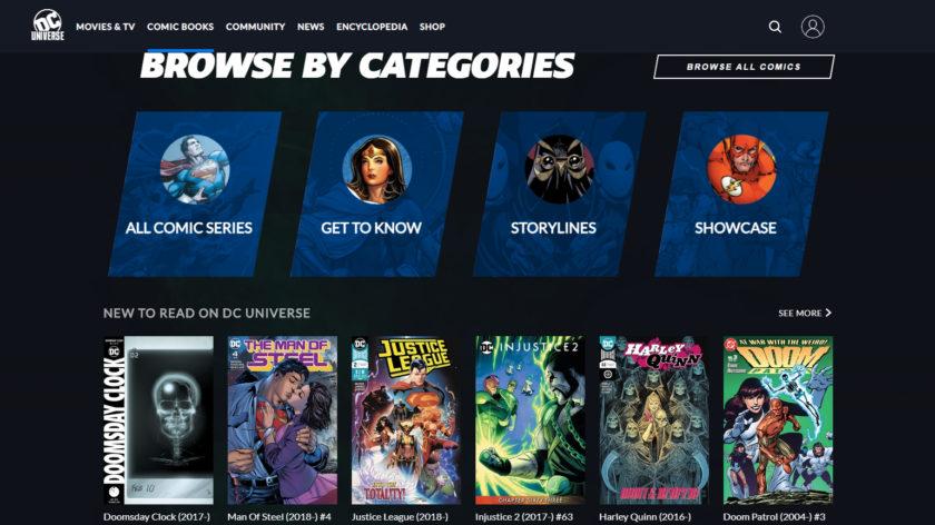 DC Universe Comics Library