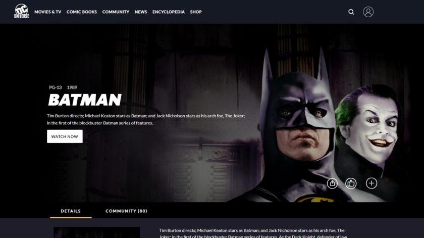 DC Universe Movies