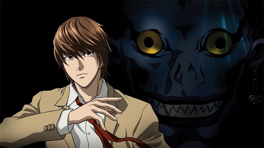 Death Note - best anime on Hulu