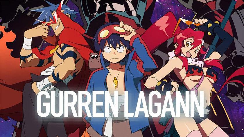 Gurren Lagann - best anime on Netflix