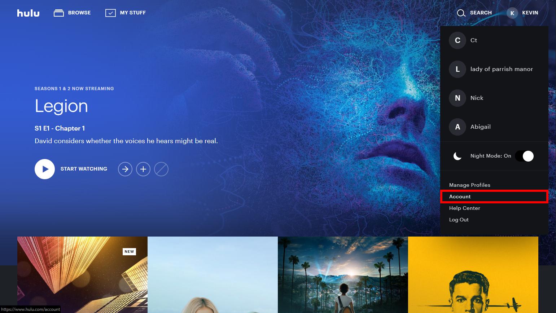 Hulu Select Account