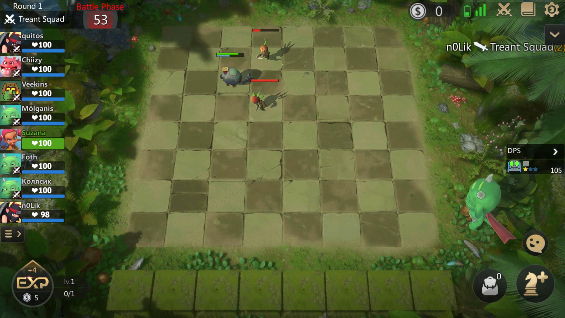 NPC rounds Auto Chess