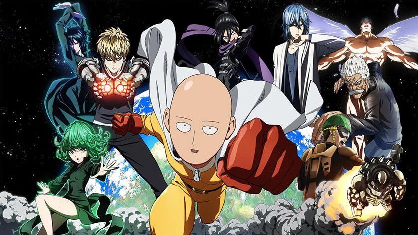 One Punch Man - best anime on Hulu