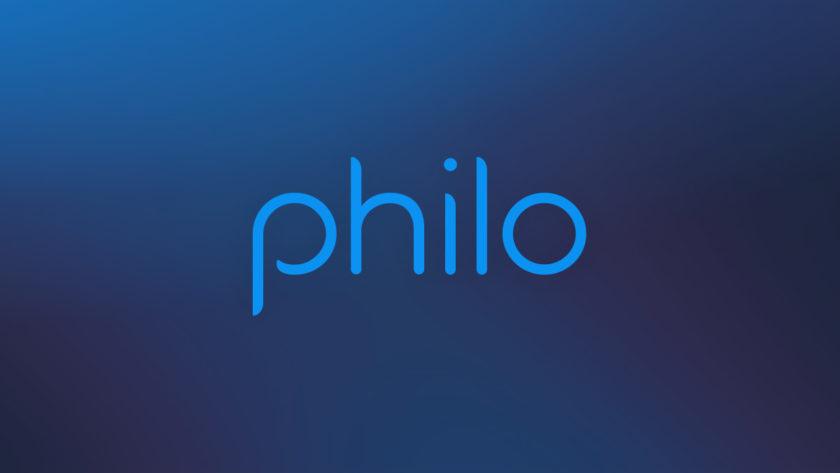 Logo of Philo live TV streaming service