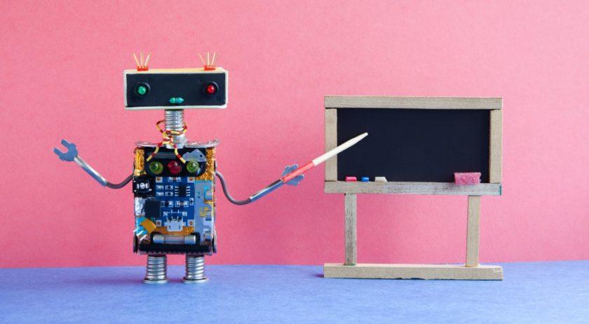 Robot Teacher Science