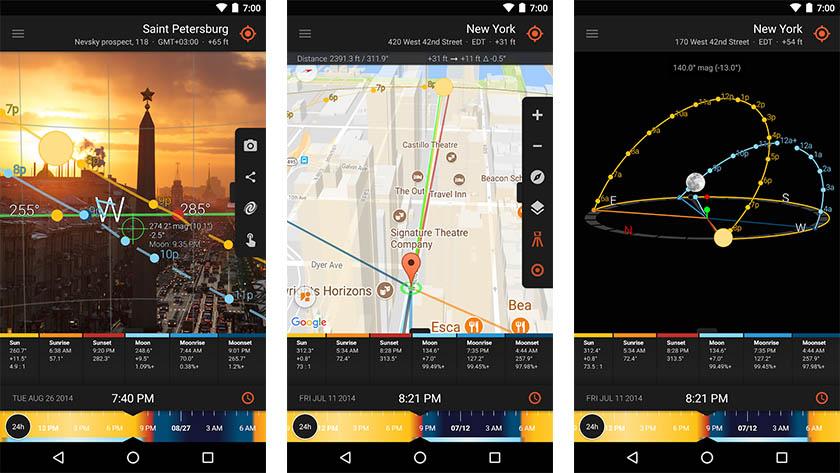Sun Surveyor - best filmmaker apps for android