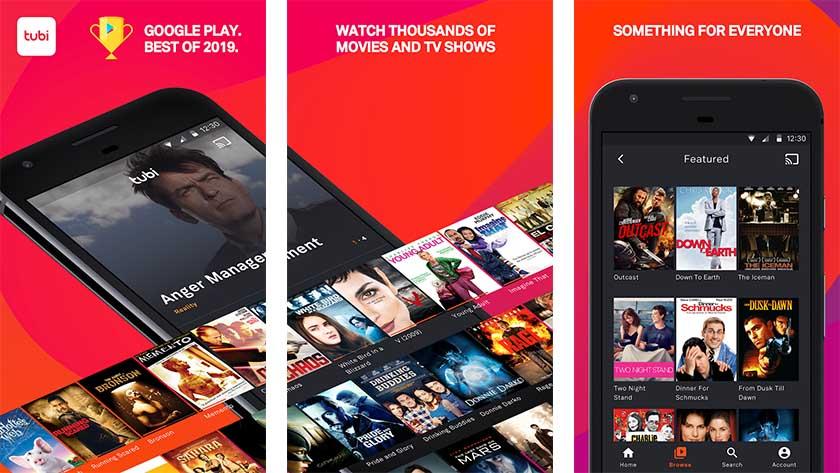 Tubi - best free movie apps