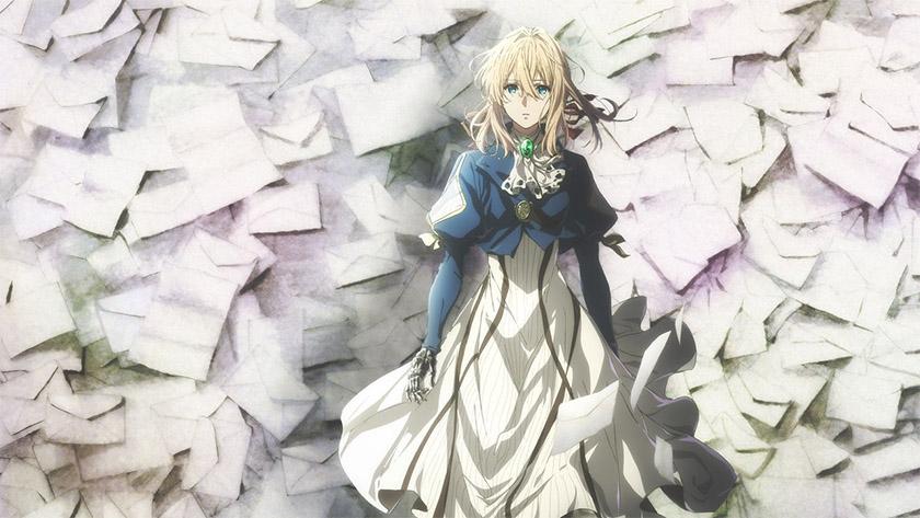 Violet Evergarden - best anime on netflix