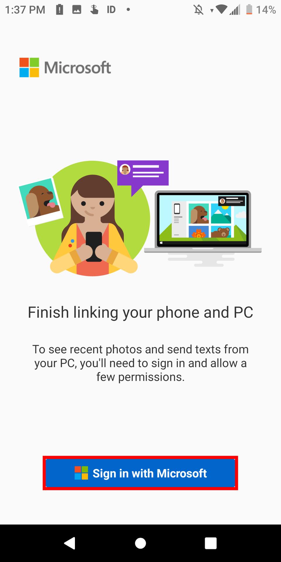 Your Phone Companion Microsoft