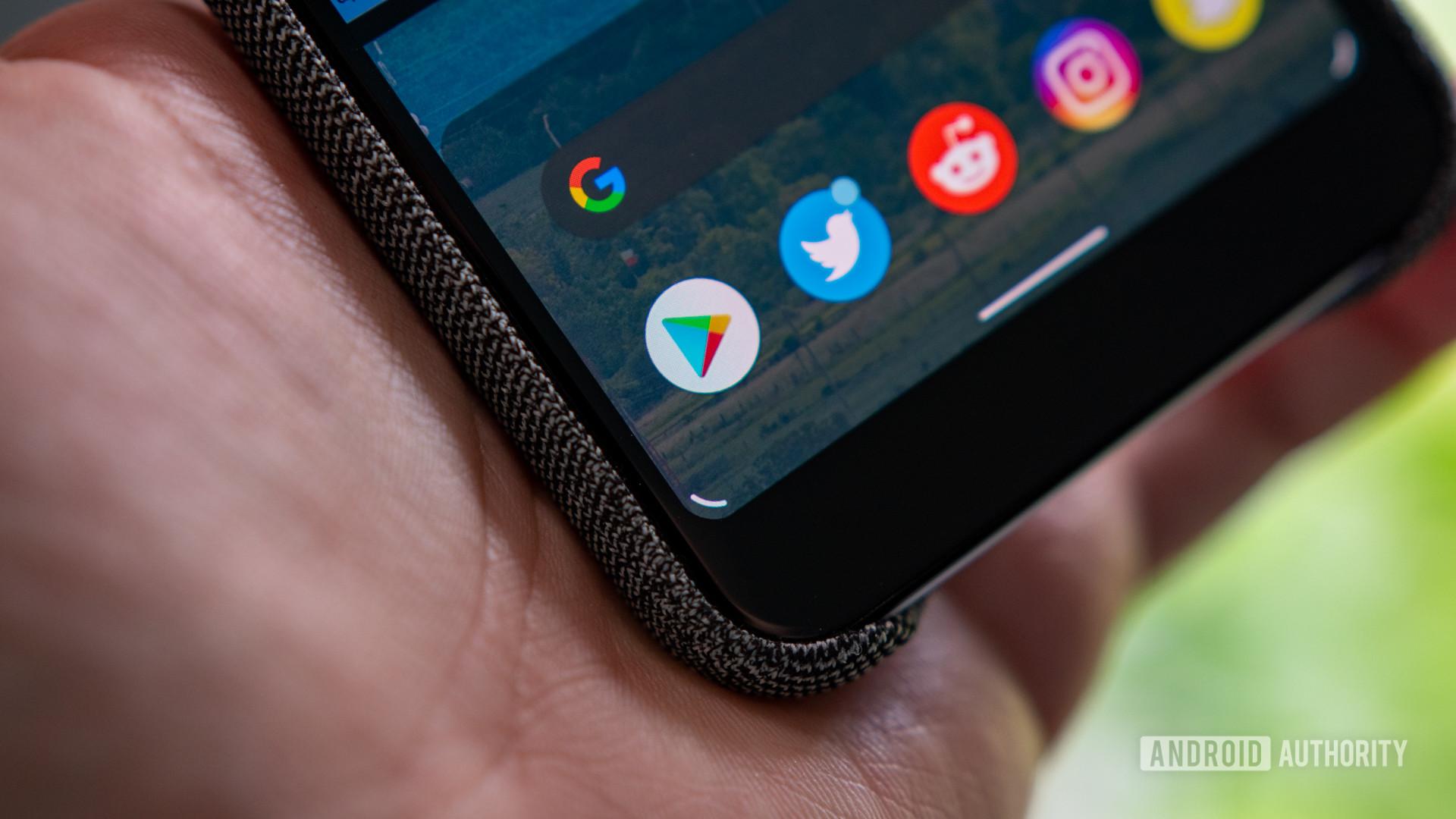 Android Q Beta 5 Google Assistant Handles