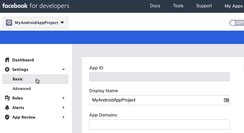 Vergessen Sie nicht, einen Release-Key-Hash zu generieren, bevor Sie Ihre App veröffentlichen.