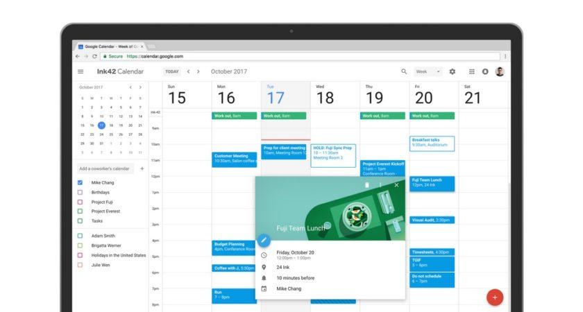 Google Calendar Web