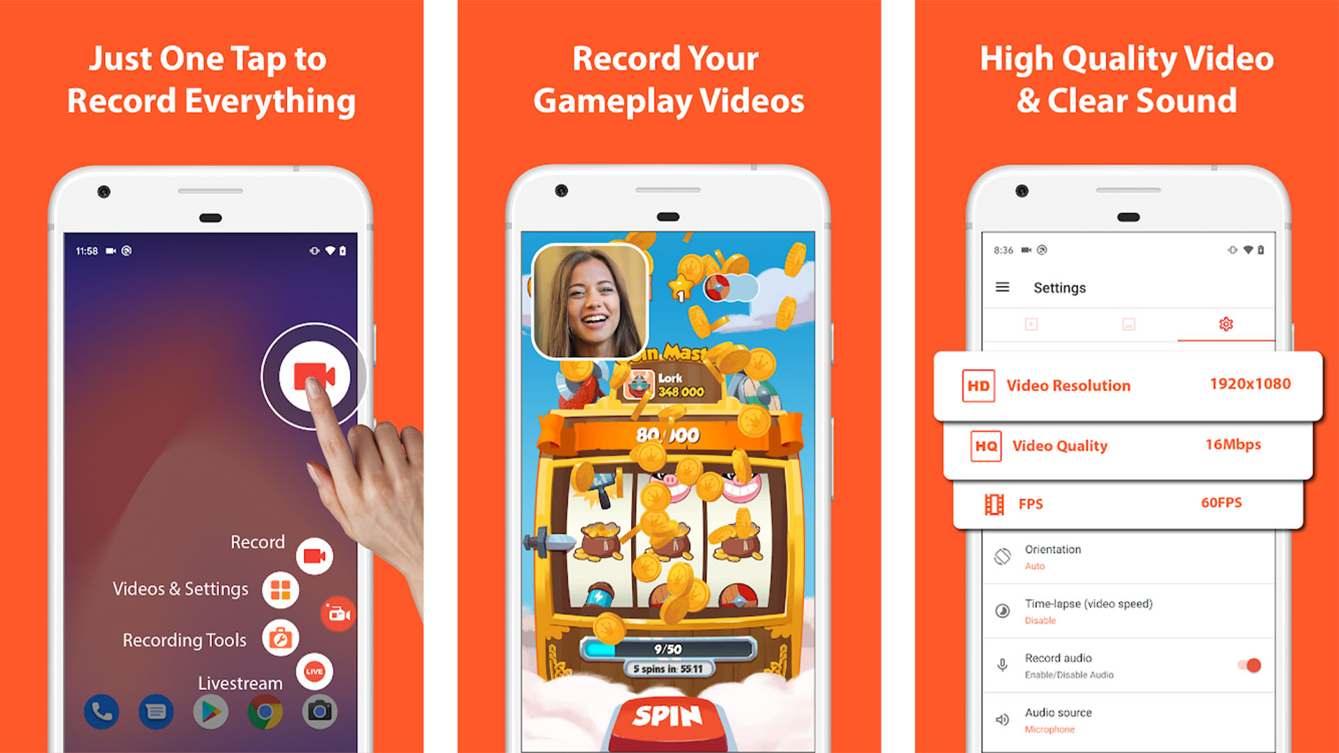 AZ Screen Recorder screenshot 2020