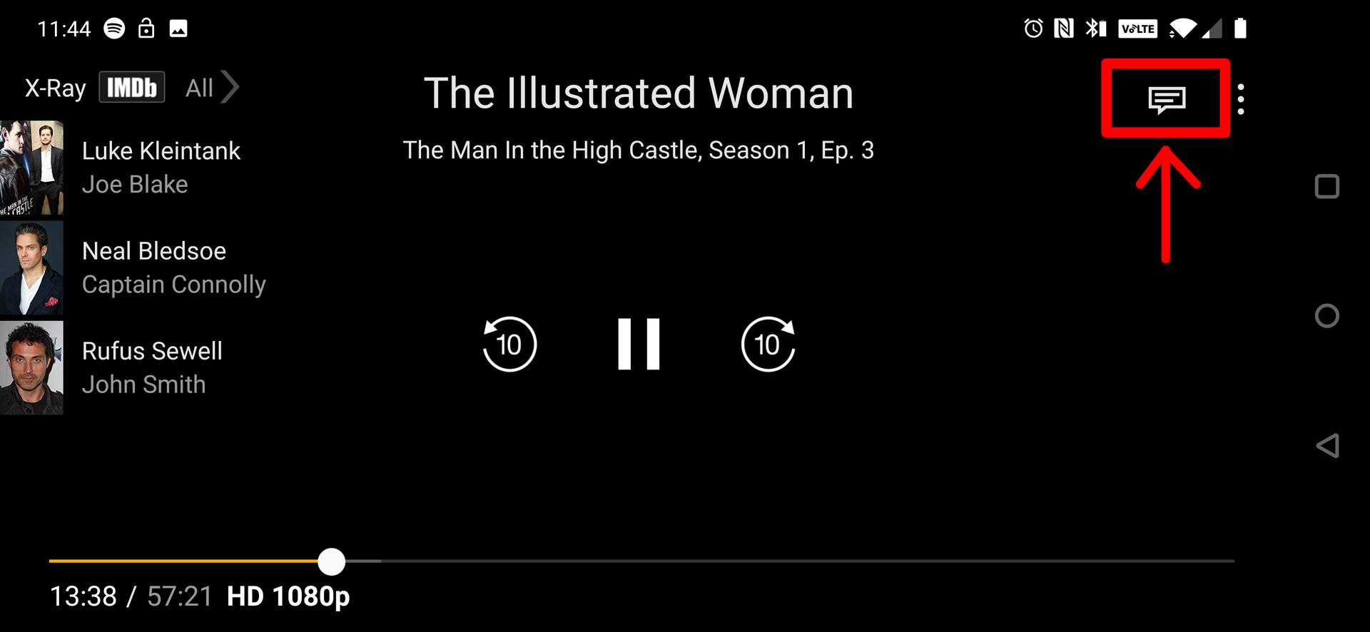 How to change subtitles on Amazon Prime Video 1