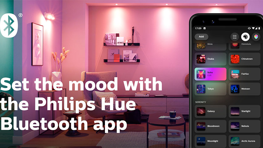 Philips Hue Bluetooth is one of the best new android apps from July 2019