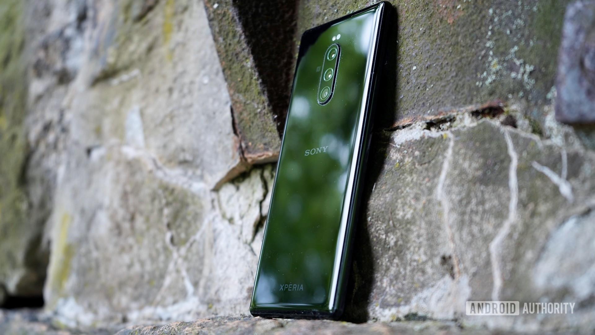 Sony Xperia 1 review right rear profile