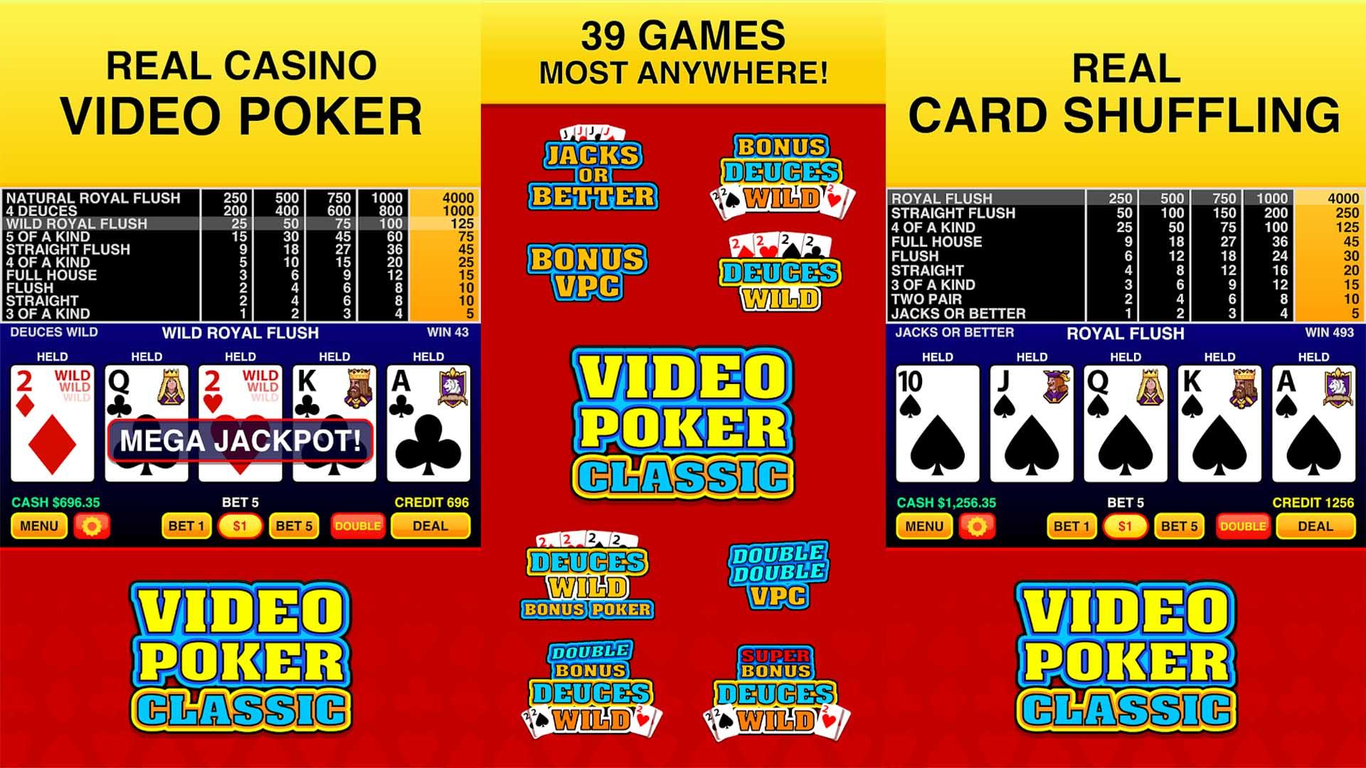 Video Poker Classic Free screenshot