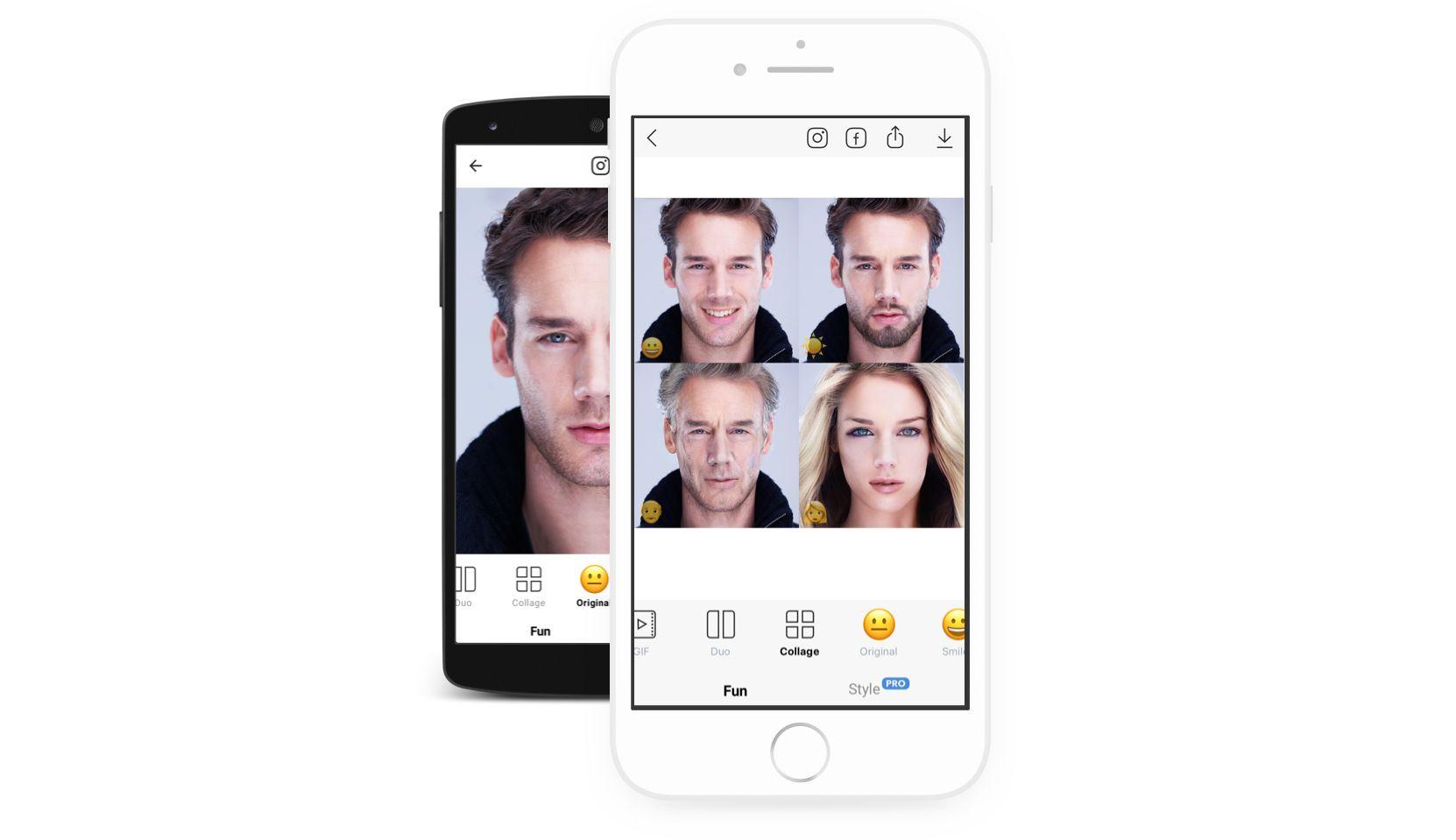 Faceapp-phones