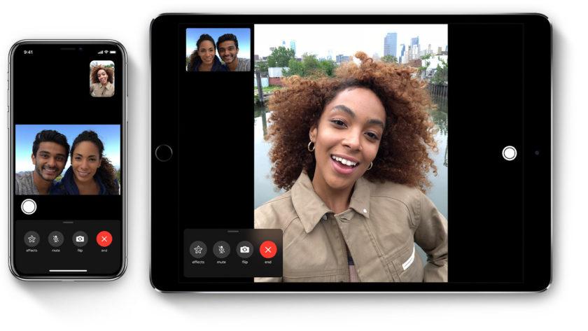 Facetime auf iOS-Geräten.