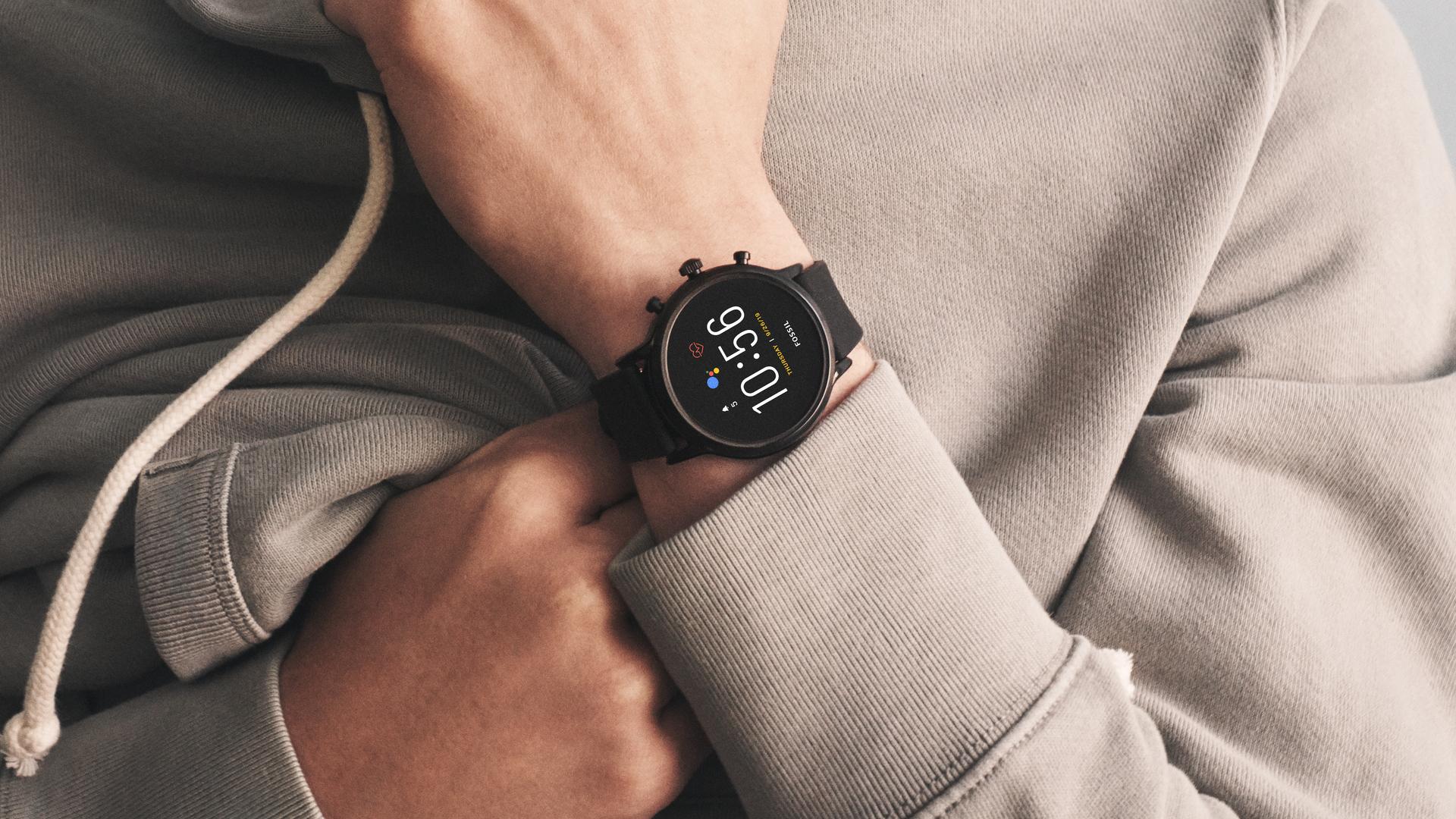 fossil generation 5 wear os smartwatch