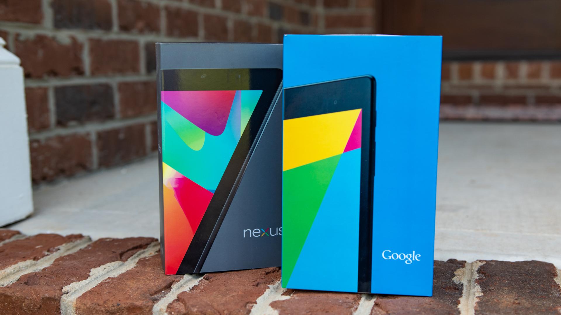 Google Nexus 7 Boxes
