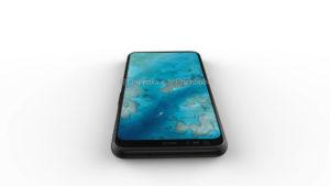 The Google Pixel 4 XL front design