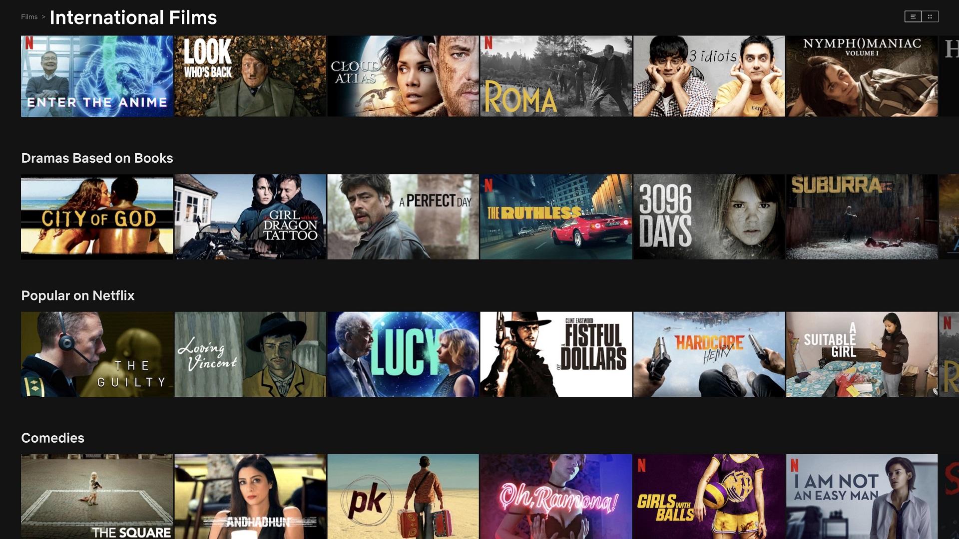 Best foreign films on Netflix featured