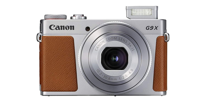 Canon Powershot G9 X Mark II touchscreen camera