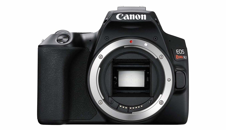 Canon Rebel SL3 -- best touchscreen cameras