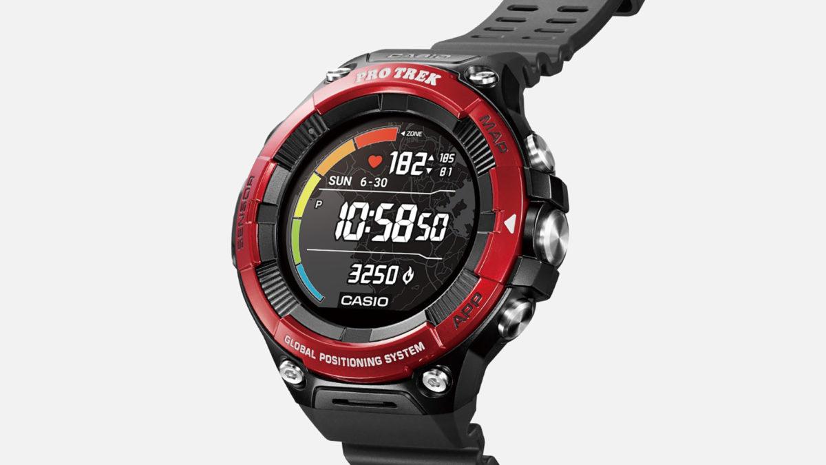 Casio WSDF21HR Wear OS Smartwatch