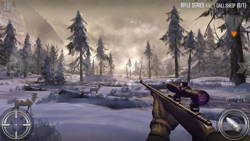 Deer Hunter 2018 trò chơi săn bắn hay nhất dành cho Android
