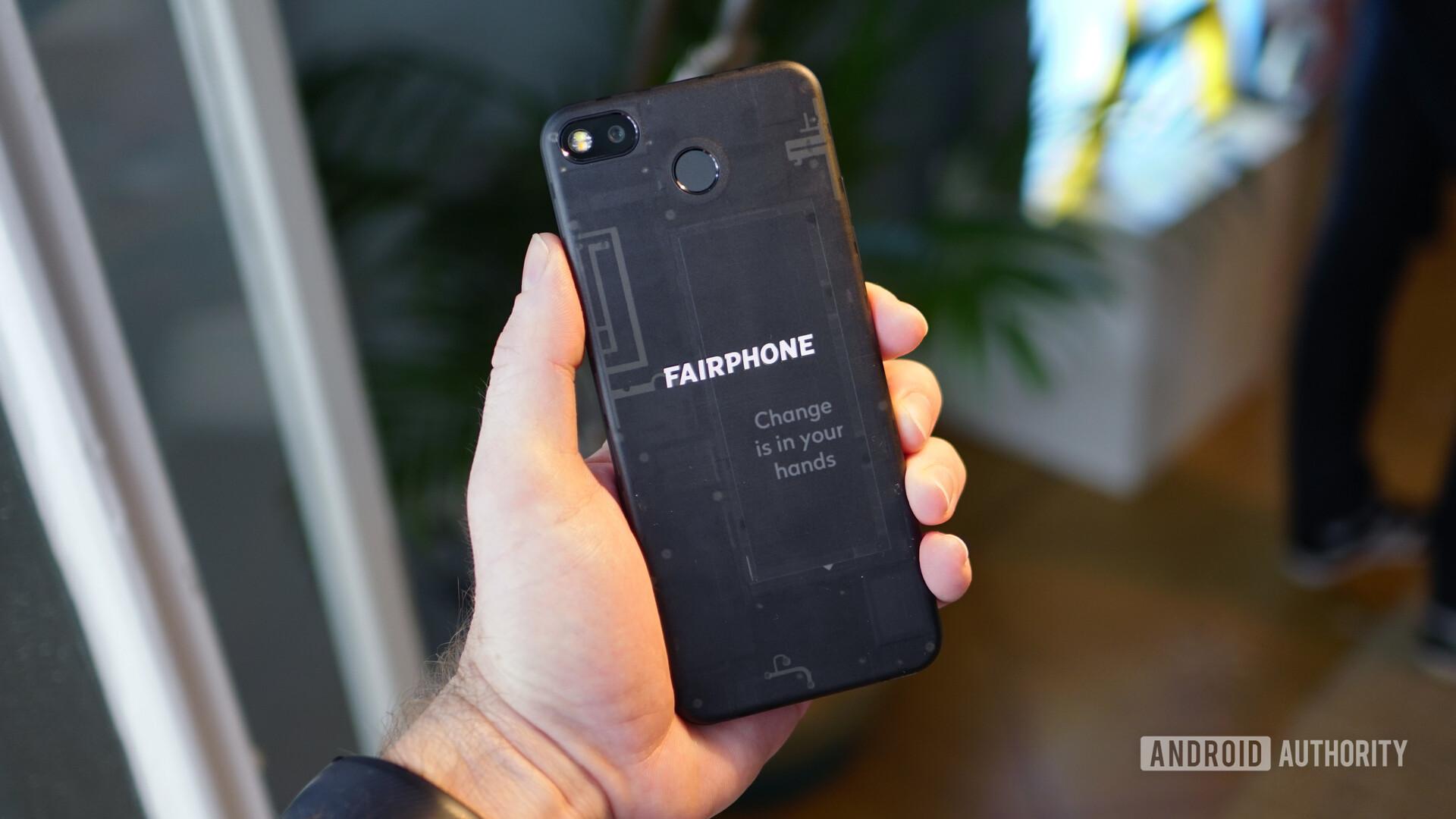 Fairphone 3 back panel 1