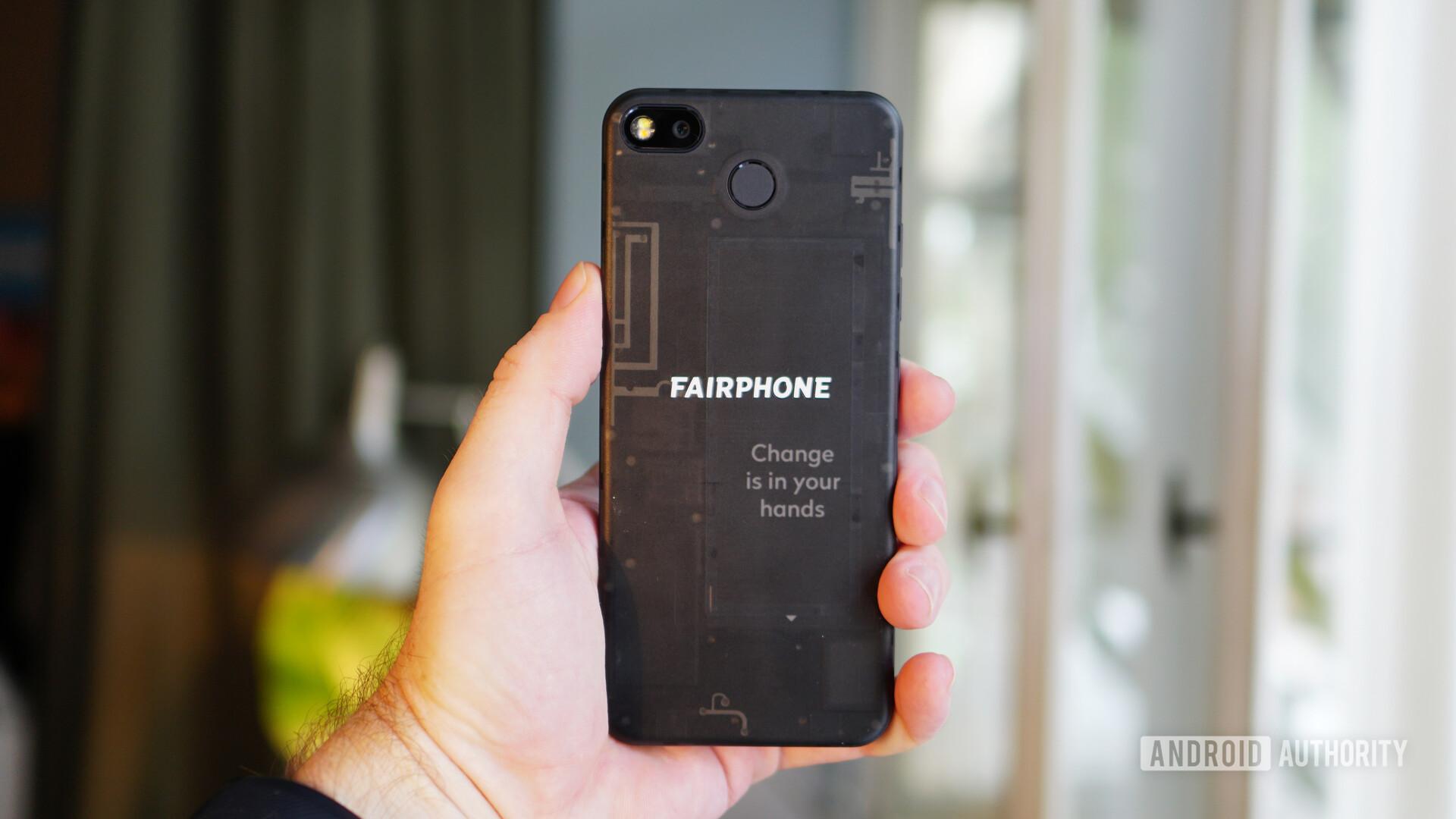 Fairphone 3 back panel 2