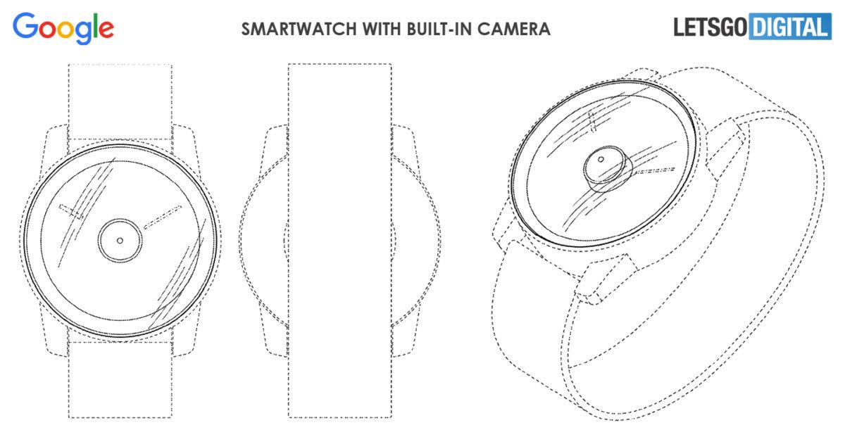 Google Smartwatch Patent Image