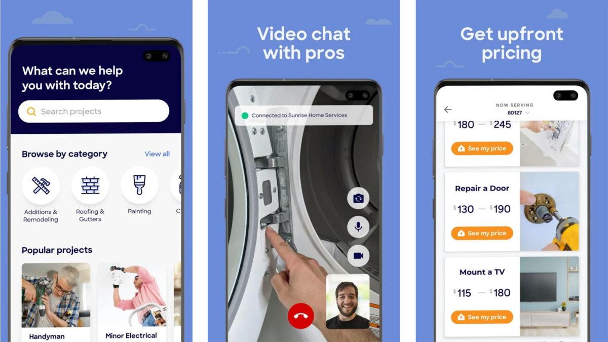 HomeAdvisor screenshot 2020
