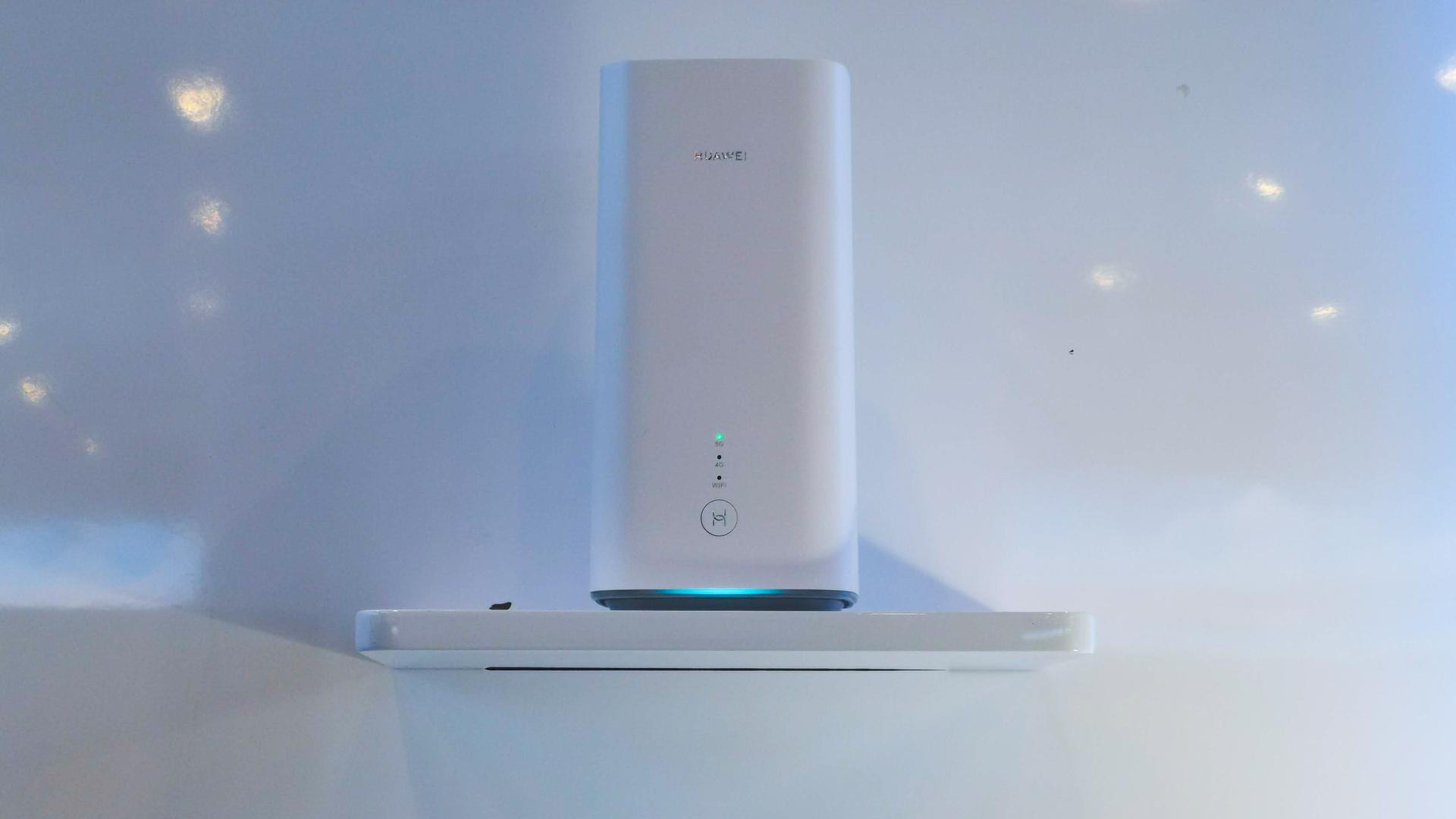 Huawei HQ 5G in home hotspot