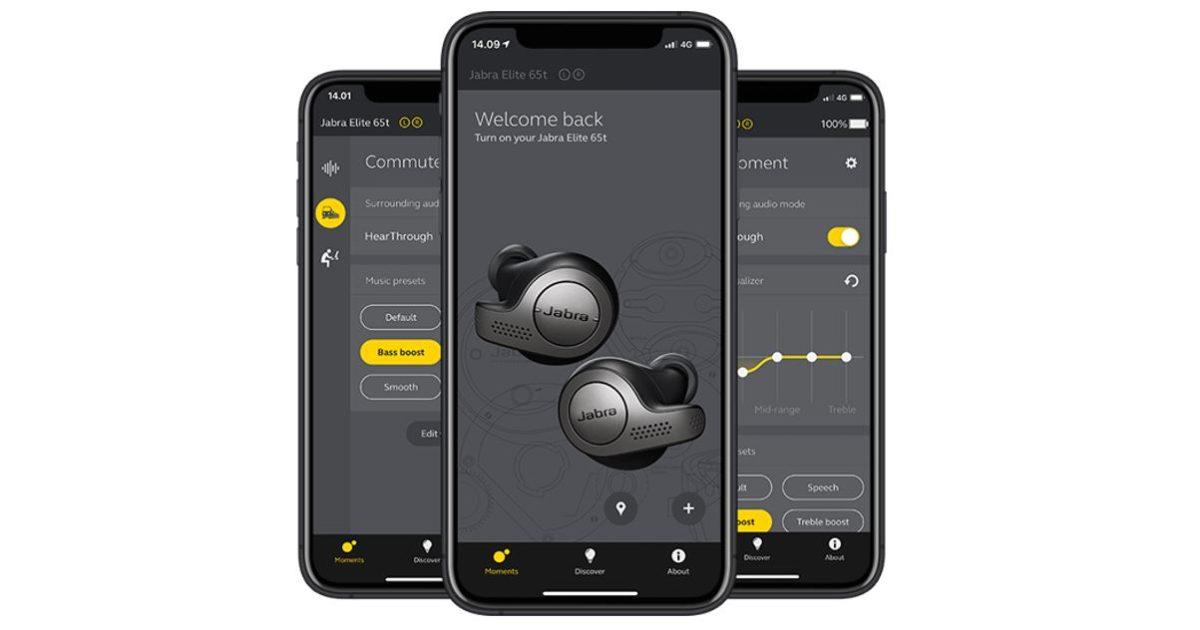 Jabra Elite 65t True Wireless Earbuds App