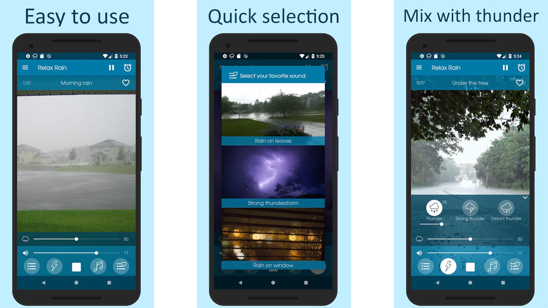 Mikdroid Relax Rain screenshot 2020