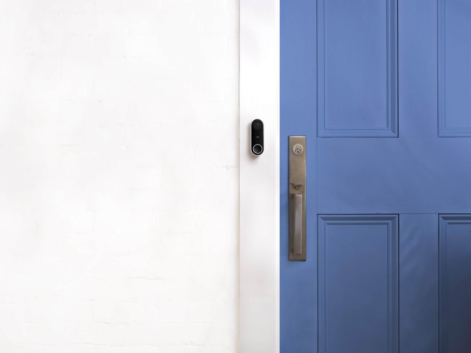 Nest Hello video doorbell package detection