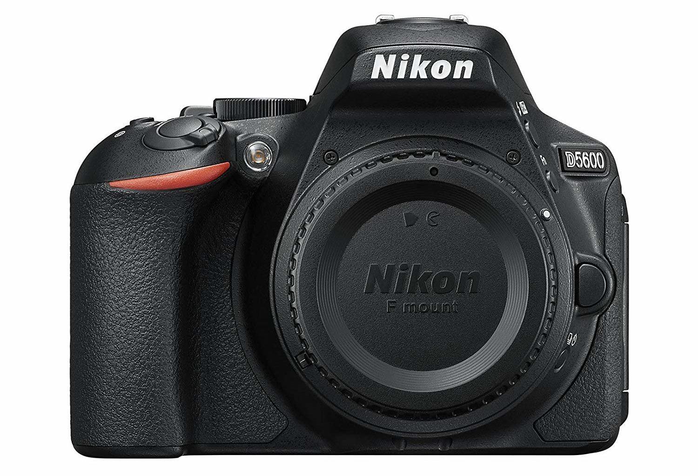 The best touchscreen cameras -- Nikon D5600