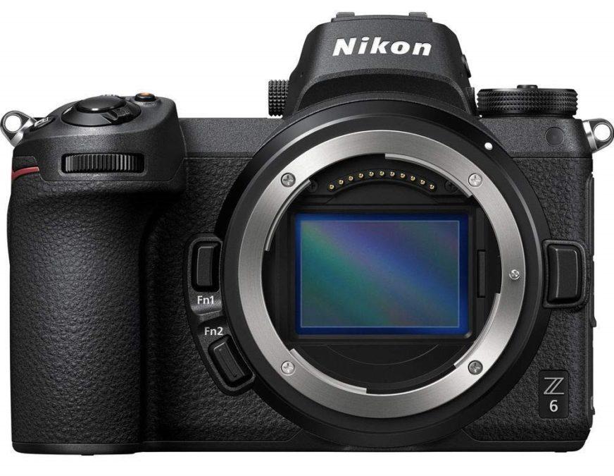 best touchscreen cameras -- Nikon Z6