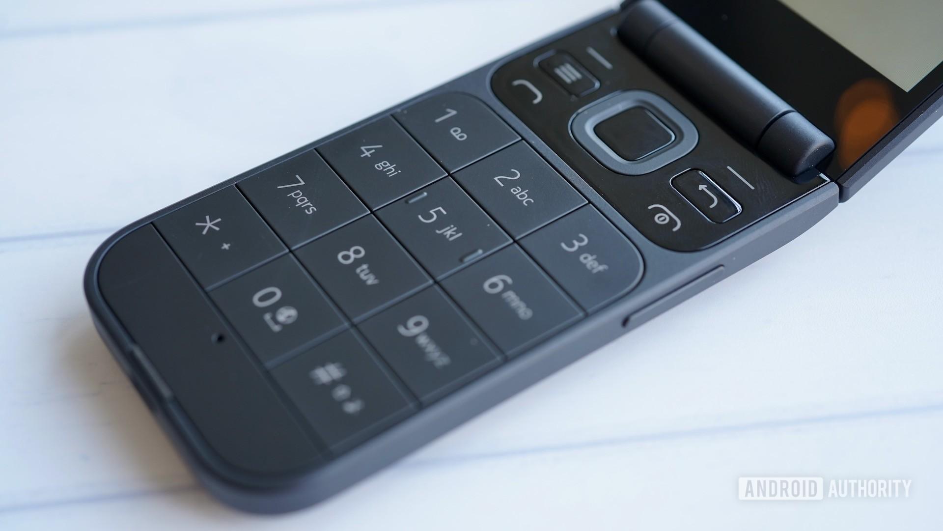 Nokia 2720 hardware buttons