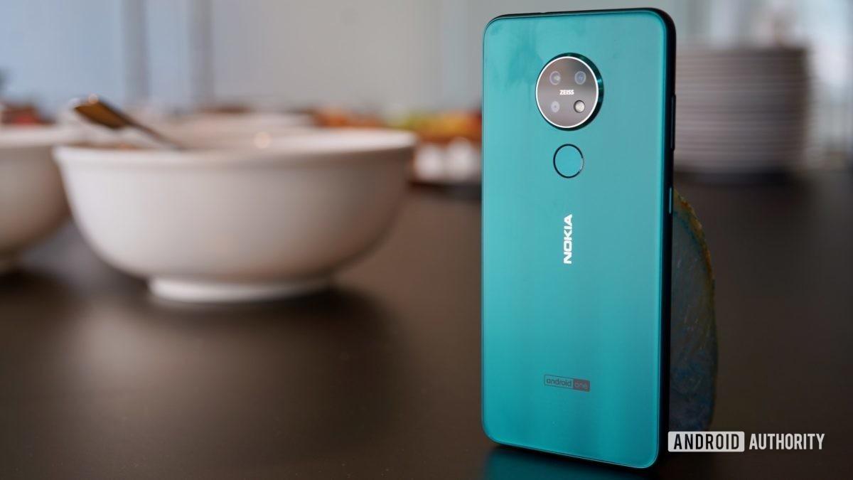 Nokia 7 2 standing angle rear panel