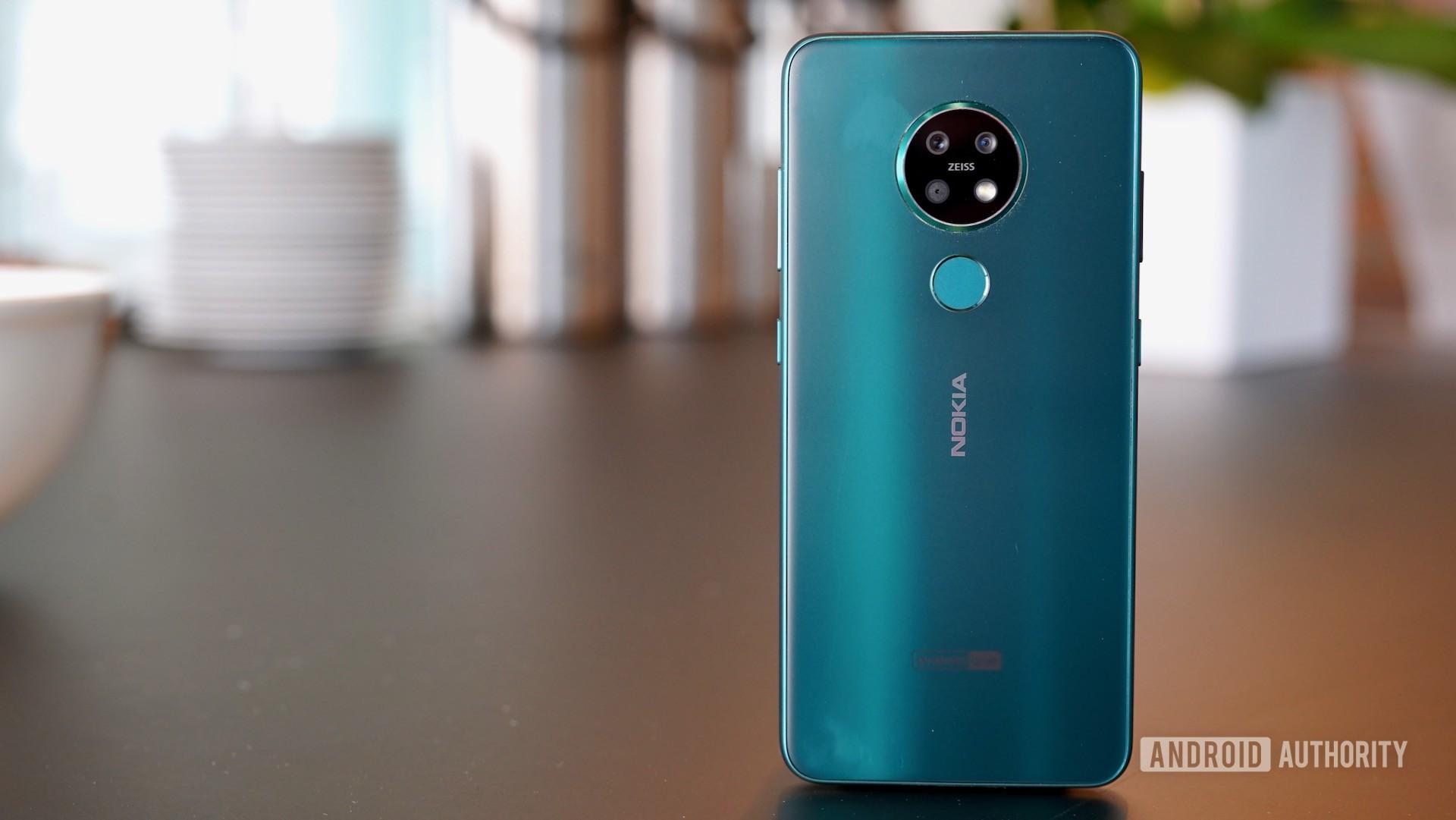 Nokia 7 2 standing rear panel