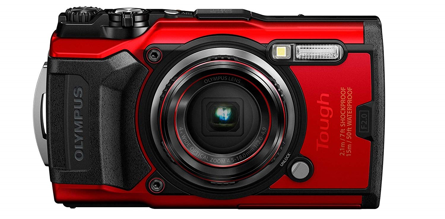 Olympus Tough TG 6 front side - best point-and-shoot cameras