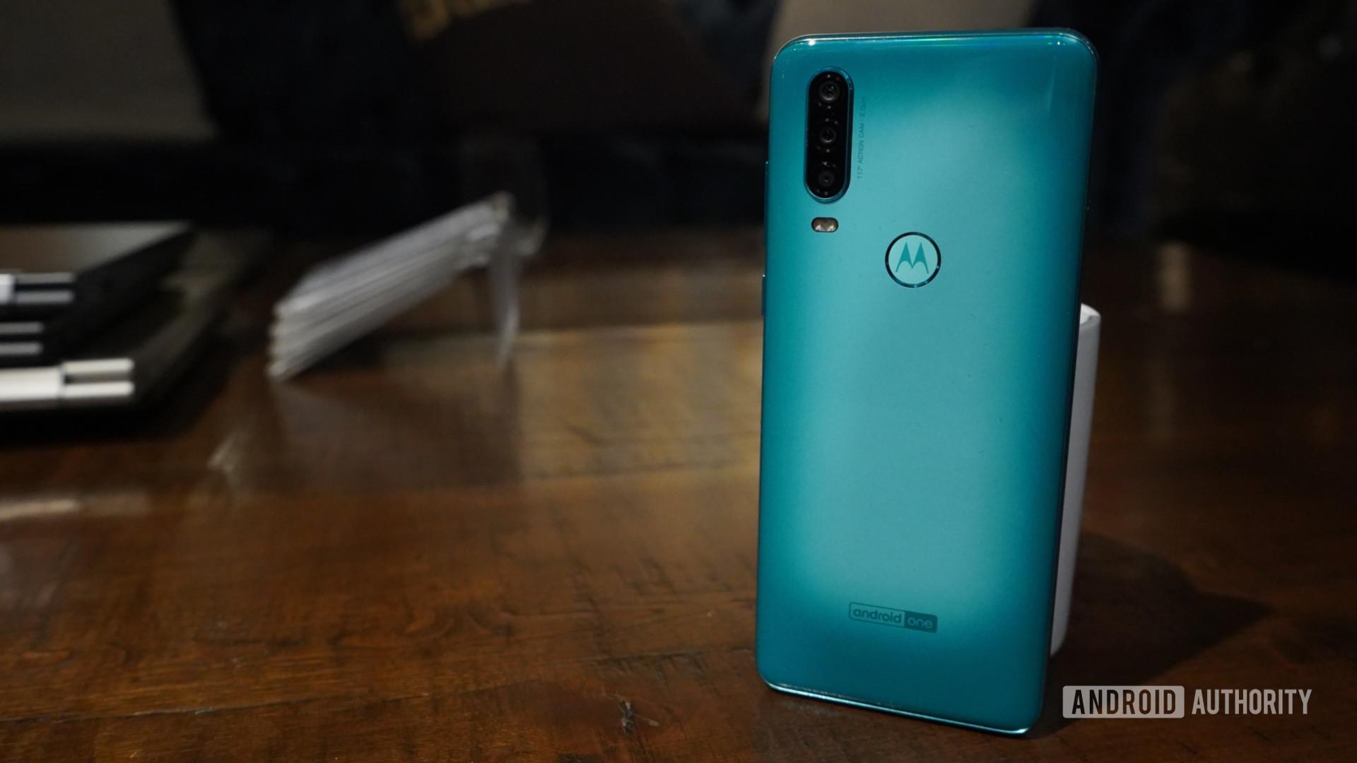 Rear shot of the Motorola One Action 3jpg